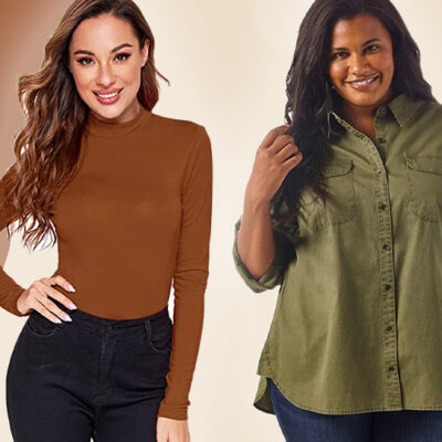 10 Perfect-For-Fall Shirts That Look So Much More Expensive Than They Are